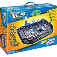 香港Tronex小学生stem科学实验整套科技小制作科普科教8-12岁儿童男孩电动电路diy益智玩具电科学100合1整套
