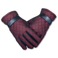 中老年女士冬季保暖手套加绒老年人骑车手套防寒老人分指妈妈手套