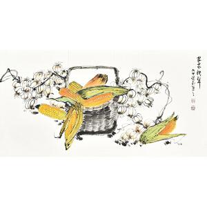 中国工艺美术家协会会员 砚飞《农家秋声》gh04242