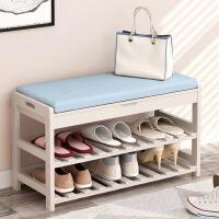 【一件3折】换鞋凳鞋柜穿鞋凳实木试鞋凳收纳储物凳现代简约长凳欧式