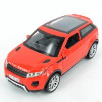 1:32嘉业VB路虎极光SUV合金车模型声光回力儿童玩具车