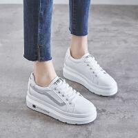 内增高小白鞋女2019春季新款女鞋百搭夏款厚底春款白鞋板鞋女学生