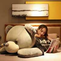 趴趴熊毛绒玩具抱抱熊公仔超大睡觉抱枕布娃娃女孩大熊特大号玩偶