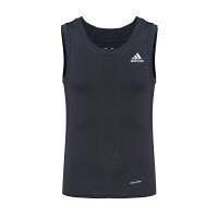 Adidas阿迪达斯 男子运动训练速干透气无袖T恤背心AI3344