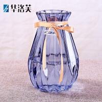 欧式风信子花瓶水培植物玻璃瓶客厅插花摆件干鲜花瓶 桌面插花瓶J