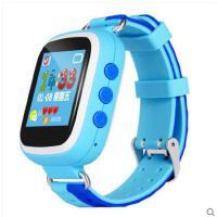 清新糖果色时尚电话手表儿童监听足迹男女电子手环智能通话手表彩屏记步LED