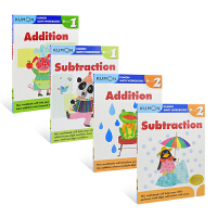 【首页抢券300-100】Kumon Calculation Math Workbooks G1-G2 公文式教育6-8