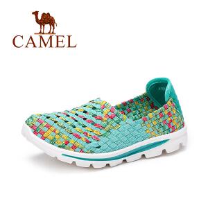 Camel/骆驼女鞋  春夏新款 轻盈百搭休闲鞋 舒适豆豆鞋健步鞋