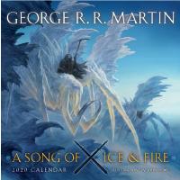 现货 冰与火之歌 权力的游戏 2020年日历 月历 英文原版 A Song of Ice and Fire 2020 Calendar 中洲旅人画师约翰.豪 作画