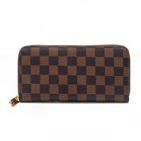 韩版时尚大容量女士钱包女长款拉链手拿包男士钱包大钞钱夹皮夹子 深棕色