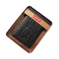 Levi's  李维斯 男士钱包铁盒装特色三折礼盒装钱包