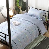 儿童卡通全棉三件套1.2米床上用品 上下铺学生宿舍单人床被套 1.2米床
