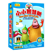 正版0~2岁小小智慧树DVD高清启蒙动画卡通碟片幼儿童早教DVD光盘