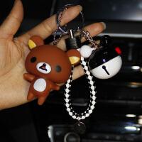 钥匙扣 小吊坠情侣包包铃铛钥匙2019韩国创意可爱卡通女汽车钥匙扣链挂件生日小礼物