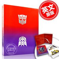现货 变形金刚 视觉历史设定集艺术画册 限定版 英文原版 Transformers:A Visual History孩