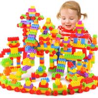 【满199减100】儿童颗粒塑料积木宝宝幼儿园早教益智拼插拼装拼搭玩具 3-6-12周岁 送男孩女孩生日六一儿童节礼物