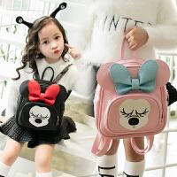 韩版儿童包包幼儿园宝宝卡通可爱双肩背包男女童背包小孩小书包