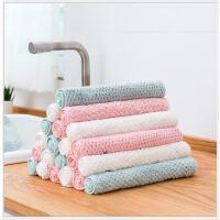 居家洗碗清洁多用珊瑚绒抹布厨房吸水抹布清洁布