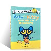 英文原版皮特猫系列 My first I Can Read Pete the Kitty and the Case o
