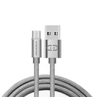Easeyes爱易思 E632 安卓MicroUSB炫彩充电数据线 钛空灰
