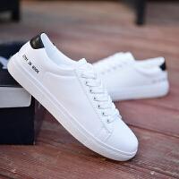 夏季透气小白鞋男鞋子运动休闲鞋男士板鞋韩版潮流帆布鞋百搭��鲲男鞋