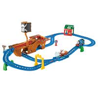 [当当自营]Thomas&Friends 托马斯电动系列之迷失宝藏航海轨道套装 儿童情景轨道玩具 CDV11
