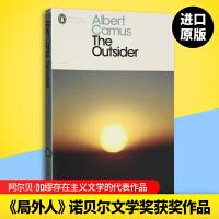 正版现货局外人 英文原版小说 The Outsider 企鹅当代经典系列 诺贝尔文学奖获奖者 Albert Camus