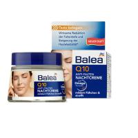 德国芭乐雅(Balea)Q10辅酶抗皱防老提拉紧致滋润晚霜,50ml