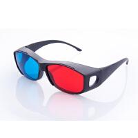 红蓝眼镜3d红蓝眼镜红蓝格式影片专用3D眼镜暴风影音眼镜移动DVD 平板电脑 买一送一,拍一副得两副