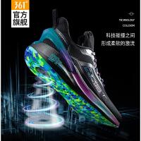 【超品预估价:186】361男鞋运动鞋2020秋冬新款跑鞋361度官方Q弹减震防滑跑步鞋男士