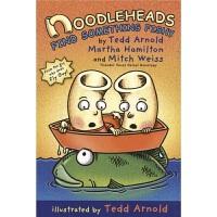 Noodleheads Find Something Fishy 面条头钓鱼记 爆笑漫画 传统民间故事 英语学习 课外读