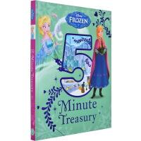 冰雪奇缘 英文原版 Disney Frozen 5-Minute Treasury 迪士尼 五分钟故事