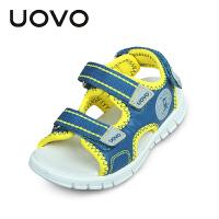 UOVO儿童凉鞋新款夏季男童凉鞋小童沙滩鞋潮露趾童鞋时尚舒适宝宝凉鞋圣马丁