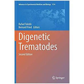 【预订】Digenetic Trematodes 9783030186159 美国库房发货,通常付款后3-5周到货!