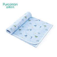 全棉时代 婴儿隔尿垫可洗大号宝宝针织复合尿垫90X70cm1条装