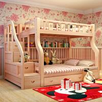 御目 儿童床 子母床上下床儿童床双层床高低床上下铺母子床上下床 创意家具
