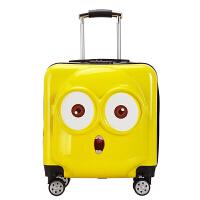 儿童拉杆箱男女小孩旅行箱万向轮小黄人卡通箱18寸20寸行李箱 18寸