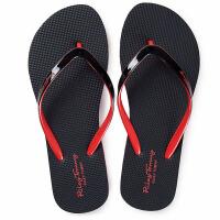 小仙风 外穿简约情侣人字拖时尚防滑夹脚凉拖鞋男女夏季海边沙滩拖鞋软底