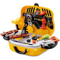 �和�工具箱玩具套�b�����^家家螺�z拆卸�S修理箱男孩益智