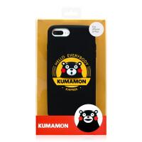 【正版授权】酷MA萌 熊本熊全包手机壳iPhone6/6P/7/7P/8/8p手机硅胶保护套个性男女 黄色印章 4.7