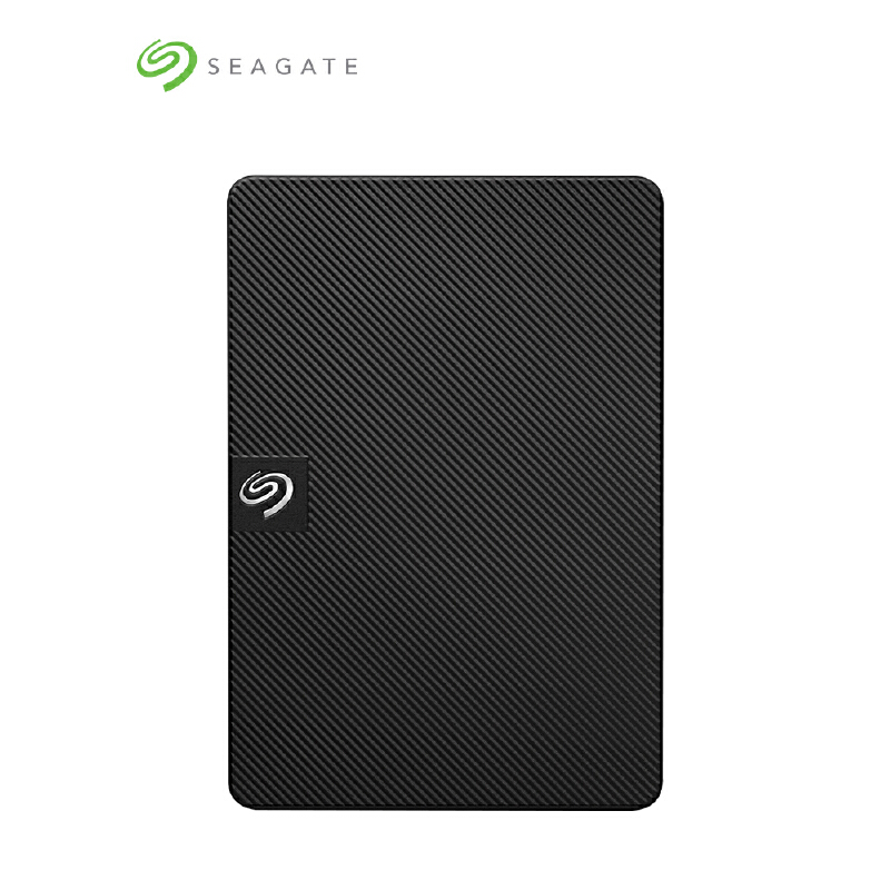Seagate希捷2T移动硬盘 Expansion新睿翼2TB 2.5英寸 USB3.0 移动硬盘 速度更快 STEA2000400黑色 运行稳定 3年贴心质保