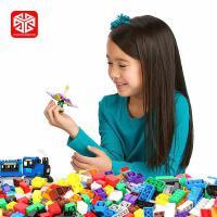 图思迪10697积木儿童玩具1000片小颗粒积木基础砖男孩儿童益智拼装玩具女孩