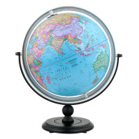 博目地球�x:30cm中英文政�^地球�x(�f向支架)