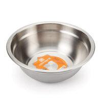优厨坊 加厚304不锈钢盆加深汤盆 圆形和面盆烘焙打蛋盆洗菜盆 料理盆 料理盘