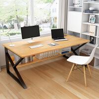 【1件3折 领券】电脑桌台式家用简约现代单人组合办公桌卧室学生简易小书桌写字台