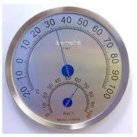 美德时TH-600B温湿度计 温度计 德国机芯 新版圆头不锈钢湿度计