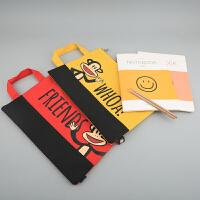 Paul Frank大嘴猴 PL0683你好朋友-文件袋 颜色图案随机 单个销售 当当自营