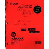英文原版 柯本日记 美国版 Kurt Cobain Journals