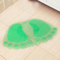 御目 地垫 按摩型吸盘大脚丫垫子洗手间卫生间透明pvc洗澡浴室防滑脚垫满额减限时抢礼品卡创意家饰