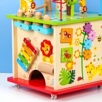 宝宝学步推推车助步车婴儿玩具小推车儿童手推木质-